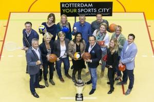 Groepsfoto Rotterdam Topsport
